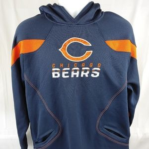 Reebok NFL Onfield Chicago Bears Hooded Pullover